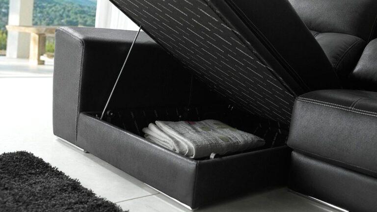 Sofá masconfort especial detalle de arcón
