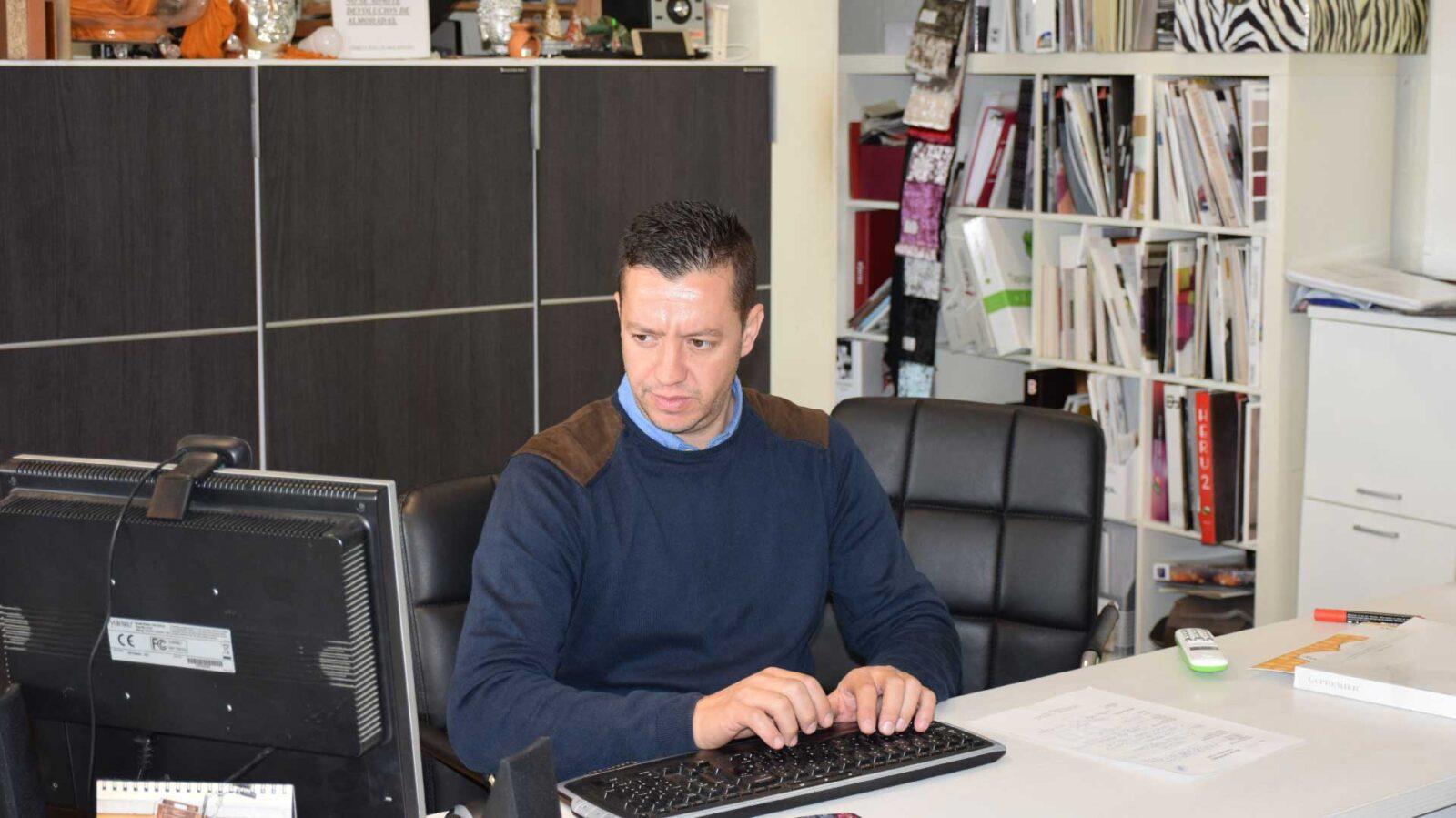 Franciso Javier, gerente de Masconfort