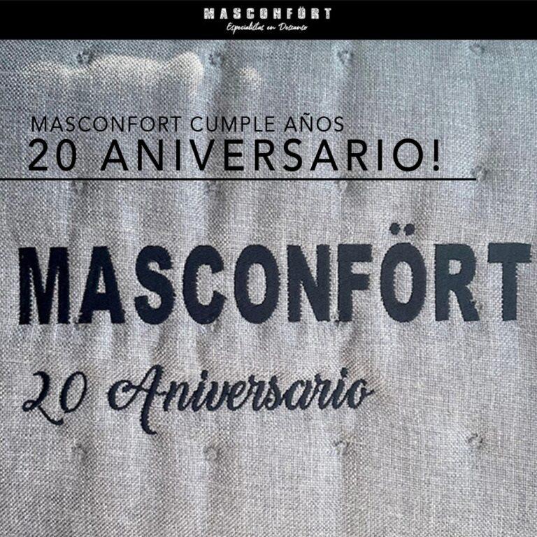 Masconfort, 20 aniversario